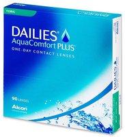 Ciba Vision Dailies AquaComfort Plus Toric -0,50 (90 Stk.)