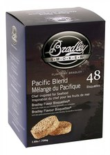 Bradley Smoker Aromabisquetten (Pazifik) 48 Stck.