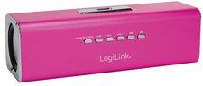 LogiLink DiscoLady Soundbox pink