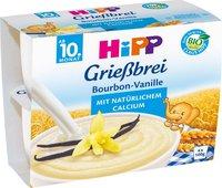 Hipp Grießbrei Bourbon-Vanille (4x100 g)