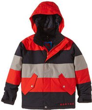 Burton Boys Symbol Snowboard Jacket burner / stone hut / true black
