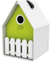 Emsa Landhaus Vogelhäuschen weiß/grün