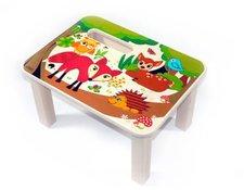 Hess Spielzeug Fußbank Waldtiere