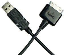 Logic3 iPod USB Datenkabel schwarz