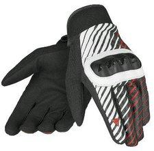 Dainese Berm Handschuhe schwarz/rot/weiß