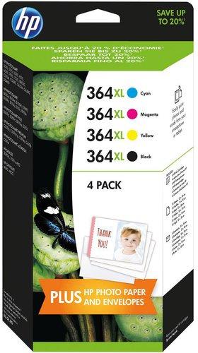 Hewlett Packard HP Nr. 364XL Combo Content Pack (J3M83AE)