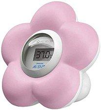 Avent Digitales Bad- und Raumthermometer rosa