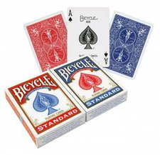 US Playing Cards Bicycle Rider Back Standard