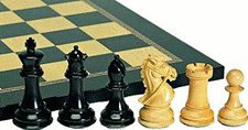 Weible Spiele Schachfiguren Staunton Deluxe KH102