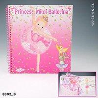 Depesche my Style Princess Mimi Ballet-Malbuch