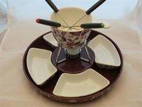 Pajoma Fondue-Set-Keramik mit 4 Schalen