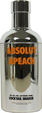 Absolut Silver Shaker Apeach 0,7l (40%)