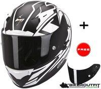 Scorpion Exo-2000 Evo Air Track schwarz/weiß