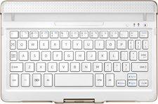 Samsung Bluetooth Tastatur EJ-CT800MAEGDE - Galaxy Tab S 8.4 (weiß) DE