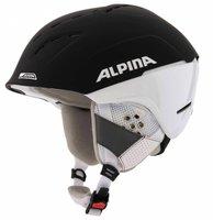 Alpina Eyewear Spice Skihelm black matt/white