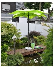 Leco Blüte Balkonschirm Ø 270 cm grün