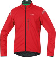 Gore Element Windstopper Soft Shell Jacke red