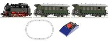 Roco Analog-Starterset Dampflokomotive 80 + Personenzug (51152)