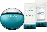 Bulgari / Bvlgari Aqva pour Homme Set (EdT 50ml + SG 75ml + AS 75ml)