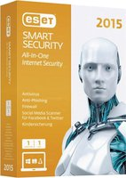 ESET Smart Security 2015 (1 User) (1 Jahr) (DE) (Win) (Minibox)