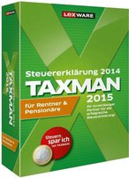 Lexware Taxman 2015 für Rentner & Pensionäre (DE) (Win)