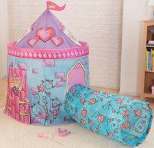 KidKraft Schlosszelt mit Tunnel pink