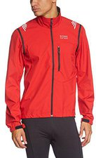 Gore Element Windstopper Active Shell Zip-Off Jacke red