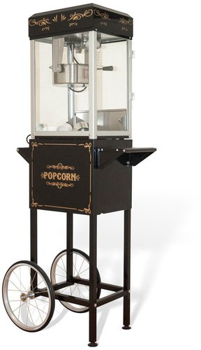 Cardanlight Europe Popcorn Maschine Schwarz