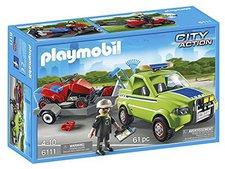 Playmobil City Action - Service-Fahrzeug mit Rasenmäher (6111)