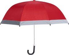 Playshoes Regenschirm mit Reflektoren (441730) rot