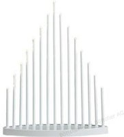 Konstsmide LED Metallleuchter weiß (2495-215TR)