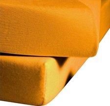 Fleuresse 1212 Jerseyspannlaken (120 x 200 cm) gelb