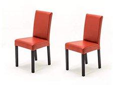 MCA-furniture Polsterstuhl Fix dunkelrot (02060175)