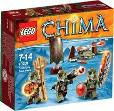 LEGO Legends of Chima - Crocodile Tribe Pack (70231)