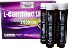 SanaExpert L-Carnitin Liquid Trinkampullen (30 x 25 ml)