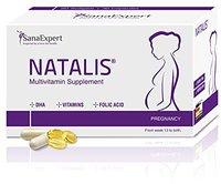 SanaExpert Natalis Folsäure und DHA Kapseln (30 Stk. + 60 Stk.)