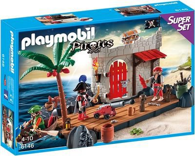 Playmobil Piraten - SuperSet Piratenfestung (6146)