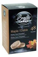 Bradley Smoker Aromabisquetten (Ahorn) 48 Stck.