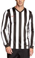 Nike Striped Divison Trikot Herren langarm black/white