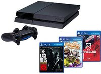 Sony PlayStation 4 (PS4) 500GB + DriveClub + LittleBigPlanet 3 + The Last of Us: Remastered