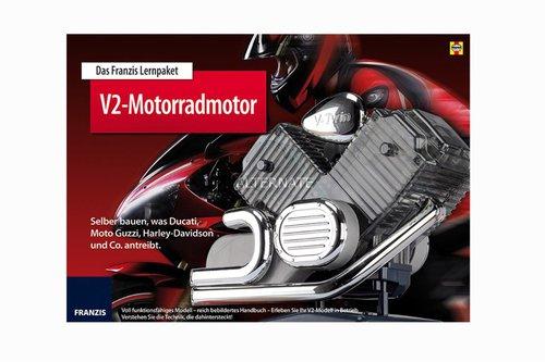 Franzis Lernpaket V2-Motorradmotor