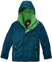 Quiksilver Mission Plain Youth Jkt Moroccan Blue
