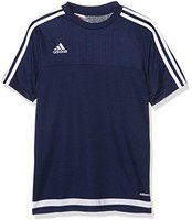 Adidas Tiro 15 Trainingstrikot Kinder kurzarm dark blue/white
