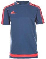 Adidas Tiro 15 Trainingstrikot Kinder kurzarm night marine/solar red