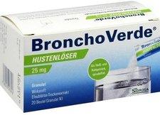 Sidroga BronchoVerde Hustenlöser 25 mg Granulat (20 Stk.)