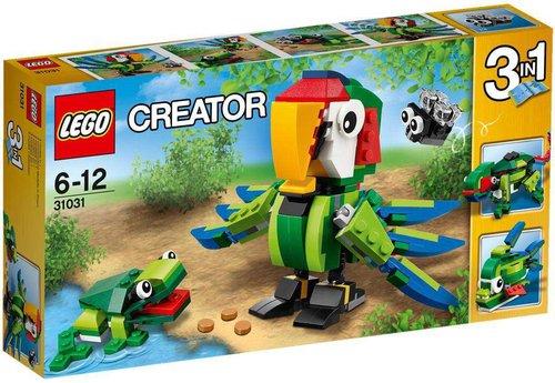 LEGO Creator - Regenwaldtiere (31031)