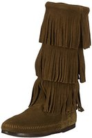 Minnetonka 3-Layer Fringe Boot loden