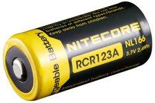 Nitecore RCR123A Li-ion Akku NL166 3,7 Volt 650 mAh