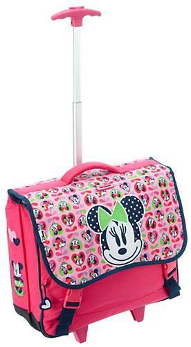 Samsonite Disney Wonder Rolling Schoolbag M Minnie Love