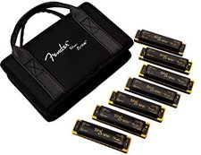 Fender Blues DeVille Harmonica 7 Pack